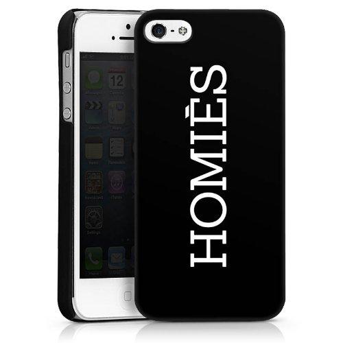 Mobile Design Case Cover Shell for HOMIES iPhone 5 - HardCase black - Apple