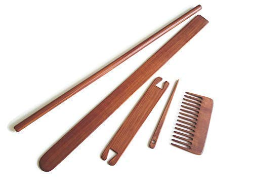 Weaving Accessories for Loom Tapestry Wooden Tools Kit
