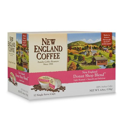 New England Coffee Donut Shop Blend K-Cups