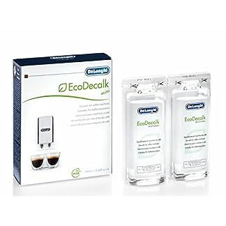 De'Longhi DLSC200 5513296011 EcoDecalk Mini Entkalker | Universal Kalklöser für 2 Entkalkunsvorgänge | Für Kaffeemaschinen und Kaffeevollautomaten | 200 ml 8