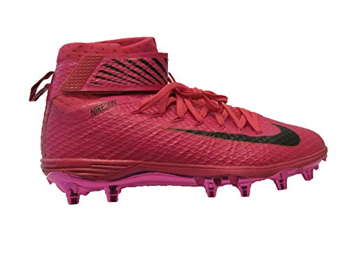 Nike Lunarbeast Elite TD Pink Breast Cancer Awareness Men's Football Cleats 13