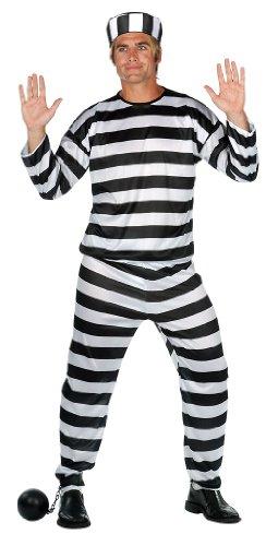 Prisoner Of Love Halloween Costume (RG Costumes Prisoner of Love Convict Costume)