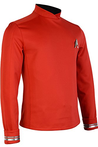 CosplaySky Star Trek Costume Beyond Engineer Crewman Uniform Scotty Shirt Medium (Engineer Uniform)