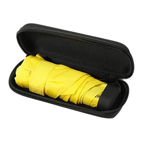 YAOHM Mini Capsule Pocket Light Umbrella Windproof Folding Umbrellas Travel Compact Rain Umbrella Men,B