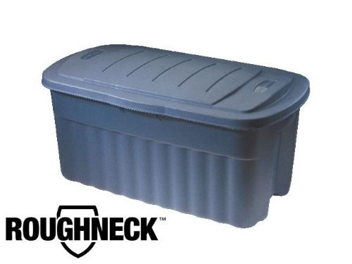Rubbermaid 2547CPDIM 40 Gallon Roughtote Jumbo Storage Box