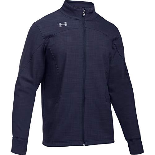 Under Armour Men's Barrage Soft Shell Jacket (Medium, Midnight Navy)
