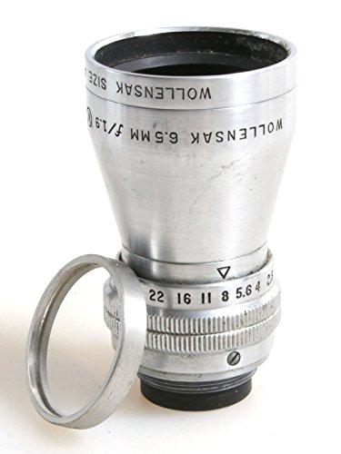 Wollensak Raptar 6.5mm F1.9 Cine Lens//Wide Angle Lens//Vintage Lens from Raptar