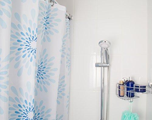 Croydex splash cortina de ducha de tela - Cortina para ducha ...