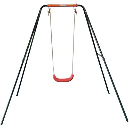 Movement God Kids Outdoor A-Frame Swing Set