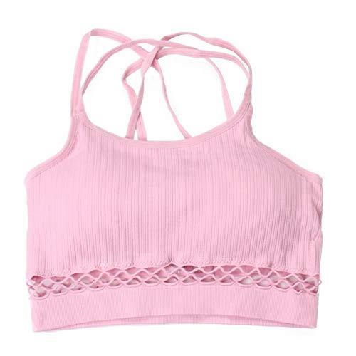 Amazon.com: Lannmart Fitness Women Sport Brassiere Sexy Sports Bra Womens Fitness Yoga Gym Sport Bra Top Wire Gym Bras Sujetador Deportivo Pro: Kitchen & ...