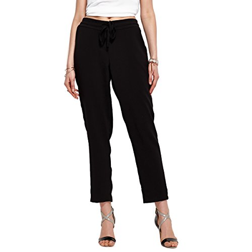 Weavers Women Skinny Causel Straight Stretch Fit Pull on Office Compression Legging, Black, Medium