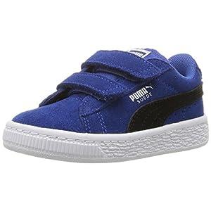 PUMA Boys' Suede 2 Straps Inf Sneaker