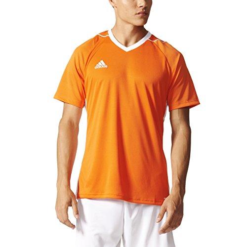 Adidas Tiro 17 Mens Soccer Jersey M Orange/White