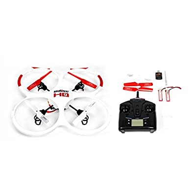 UDI RC 818A HD Drone Quadcopter with 720p HD Camera Headless Mode, Return to Home Function and Batteries - White: Toys & Games