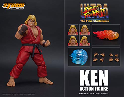 Storm Collectibles Ultra Street Fighter II: Ken The Final Challengers Action Figure