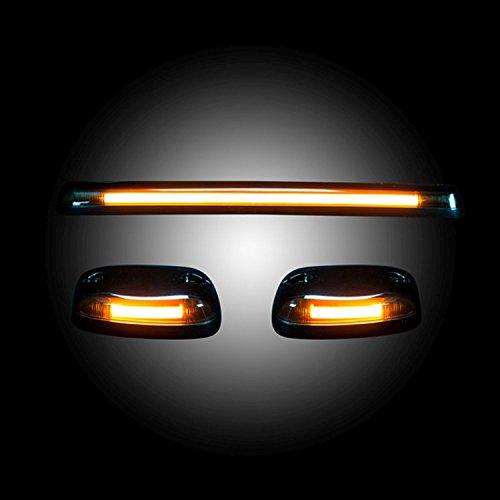 (RECON ACCESS 264156BKHP Black LED Roof Marker Light)