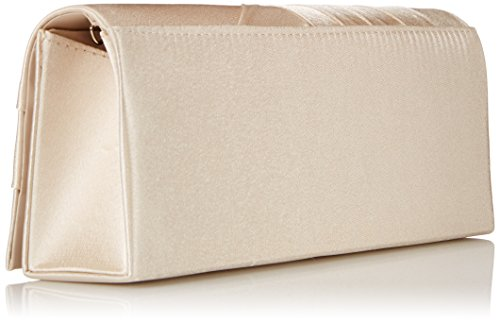 Bag Evening Handbag Satin Damara Cocktail Champagne Wedding Clutch Elegance qHZvSwv0