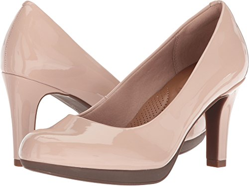 CLARKS Women's Adriel Viola Dress Pump, Dusty Pink, 5.5 M US