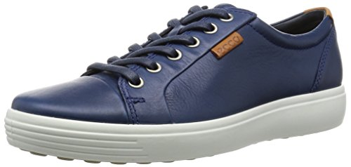 ECCO Soft 7 Men's, Scarpe da Ginnastica Uomo Blu (1048true Navy)