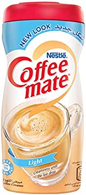 Nestle Coffee Mate Light Non Dairy Coffee Creamer, 450g