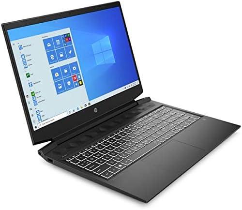 "HP Pavilion Gaming Laptop 16-a0006nl, Nero, Intel Core i7-10750H, 16GB RAM, 512GB SSD, 16.1"" 1920x1080 FHD, 4GB NVIDIA GeForce GTX 1650Ti, HP 1 Anno Di Garanzia, Italian Keyboard, (rinnovato)"