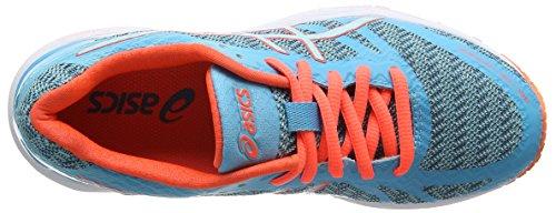 Coral Donna Splash Flash Gel Blu Asics Trainer Scarpe DS Aqua 22 Aquarium Running 7pATR