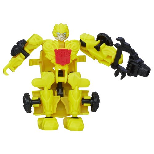 Transformers Age of Extinction Construct-Bots Dinobot Riders Bumblebee Buildable Action Figure (Transformers Age Of Extinction Bumblebee Toy)
