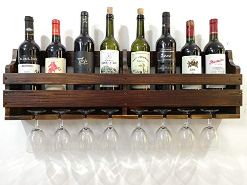 7 bottle wall wine rack - 9
