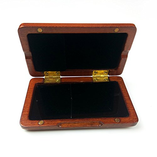 Xuan Clarinet Saxophone Reeds Case for 2 Pcs Reeds Wooden Box by Xuan (Image #2)