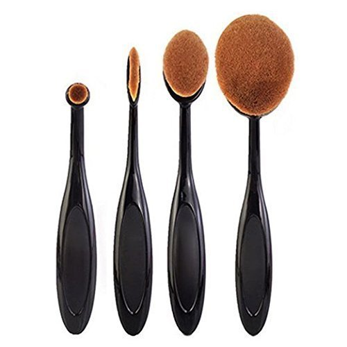 klaren-professional-4-pcs-powder-foundation-face-toothbrush-4pcs