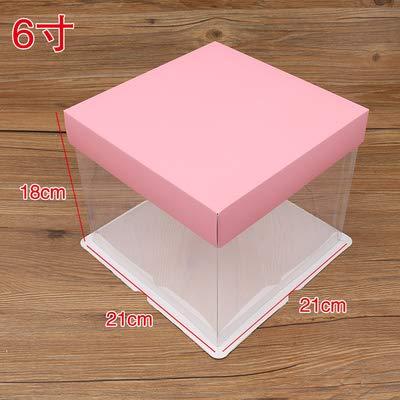 - Wholesale Retail 5pcs 6 8 10 Inch Birthday Cheese Cake Box Gift Snack Portable Boxes - Free Boxes Shipping Storage Bins
