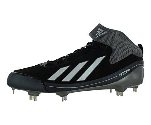Adidas Mens Adizero 5-tool 2.5 Tacchetti Da Baseball Bassi In Metallo Nero / Grigio