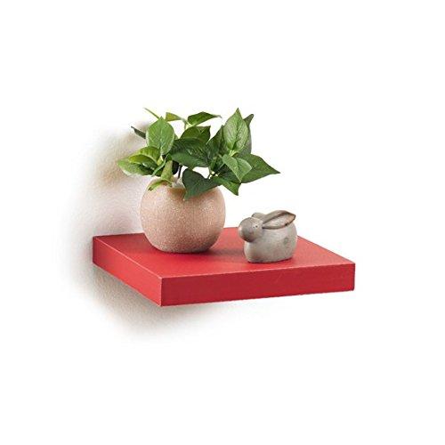 Modul'Home - 6RAN790BC - floating panel shelf/MDF 25 x 22.8 x 3.4 cm, black, L25xP22,8x3,4cm Modul'Home 6RAN790NR