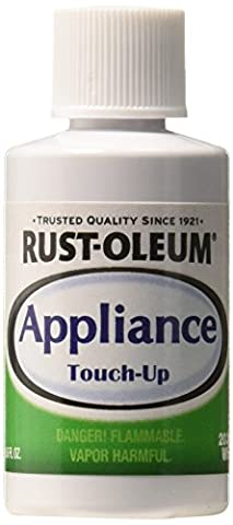 Rust-Oleum 203000 .6-Ounce Specialty Brush Bottle Appliance Touch Up, White (Appliances)