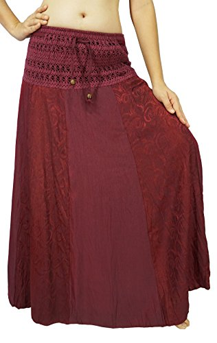 Blue Plaid Seersucker Skirt - 1
