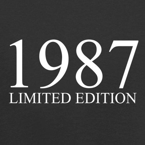 1987 Limierte Auflage / Limited Edition - 30. Geburtstag - Herren T-Shirt - Schwarz - S