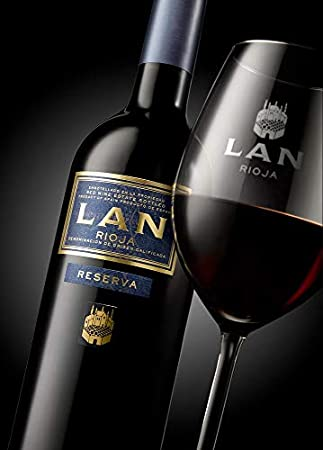 Vino Tinto LAN Reserva (D.O.Ca.Rioja) - 3 botellas de 750 ml - Total: 2250 ml