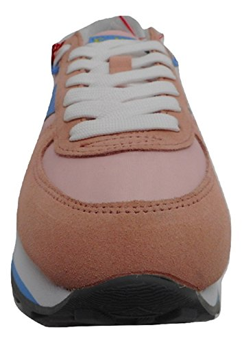 Etonic 45 Rosa Rosa Mujer Zapatillas EU de Piel Para pA7zqp
