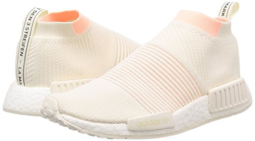 cs1 De W Pk Orange Chaussures White Cloud cloud Gymnastique Adidas White Orange Femme Blanc cloud clear Nmd fq51X
