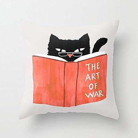 AMZ Pillow Covers Funda de cojín Cuadrada de algodón Suave ...