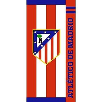 Toalla Terciopelo Atlético de Madrid 76 X 152: Amazon.es: Deportes y aire libre