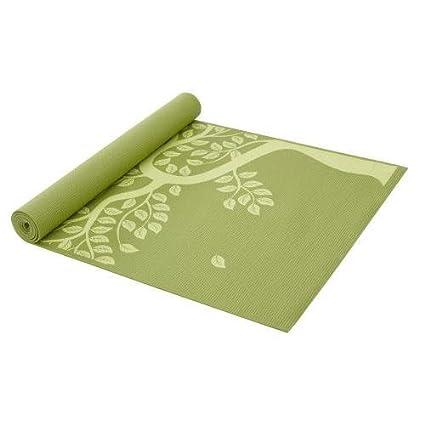 Gaiam Tapis De Yoga Imprime Arbre De Vie 3mm Gaiam Amazon Fr