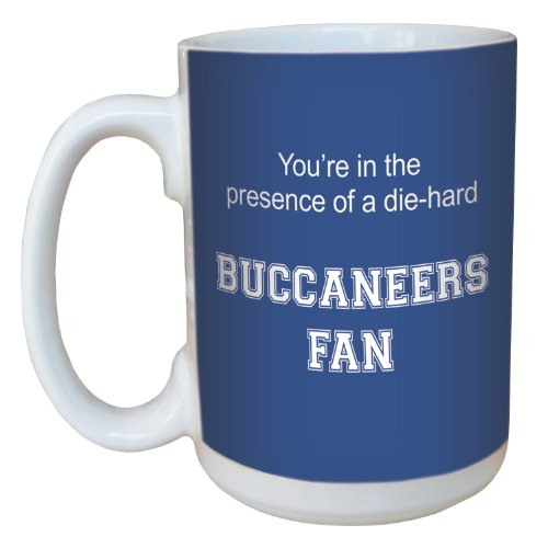Tree-Free Greetings lm44665 Buccaneers College Basketball Ceramic Mug with Full-Sized Handle, 15-Ounce