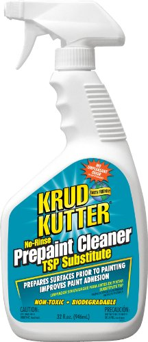 KRUD KUTTER PC326 PC32 Prepaint Cleaner/TSP Substitute, 32-Ounce, Original Version (Best Liquid Sandpaper Deglosser)