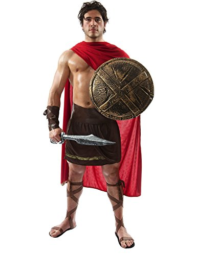Spartan Warrior Fancy Dress Costume
