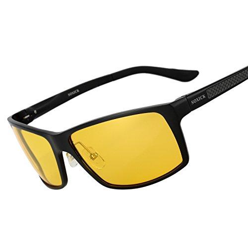 Night Driving Glasses Polarized Lens Night Vision Fashion - Mens Popular Glasses