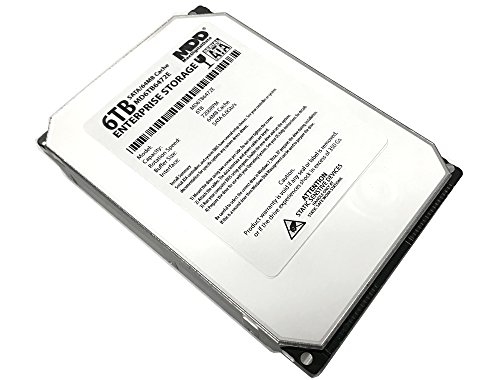 MaxDigitalData (MD6TB6472E) 6TB 7200RPM 64MB Cache SATA 6.0Gb/s 3.5″ Helium Platform Enterprise Hard Drive – w/3 Year Warranty