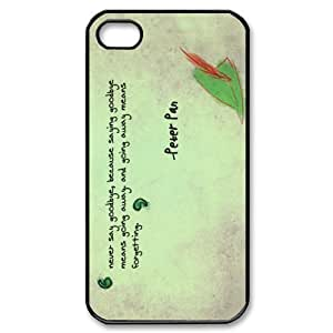 Fashion Peter Pan Personalized For Apple Iphone 4/4S Case Cover Hard -CCINO
