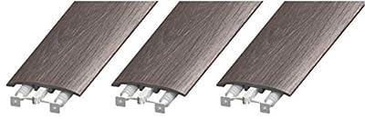 "Cal-Flor MD10001 Unitrim Waterproof 3-in1 Floor Molding 2"" Wide x 94"" Long 3-in-1 Laminate"