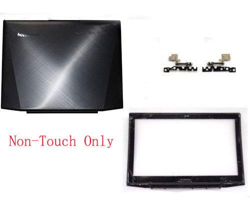- Compatible Replacement for Lenovo Y50-70 Top LCD Lid Rear Back Cover & LCD Bezel & Hinge for Non-Touch